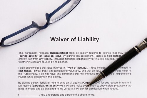 Is A Permission Slip Or Release Of Liability Form Valid